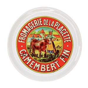 Porcelain Fromagerie Camembert Cheese Plate